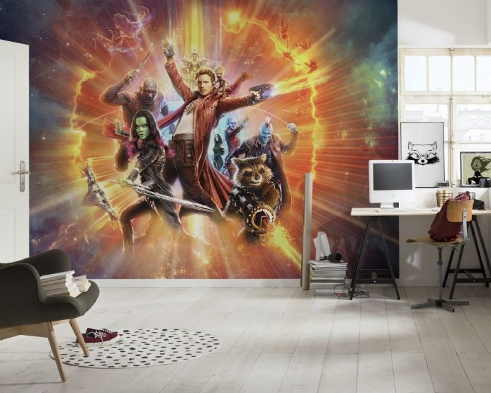 Guardians of the Galaxy wall mural wallpaper | Buy it now